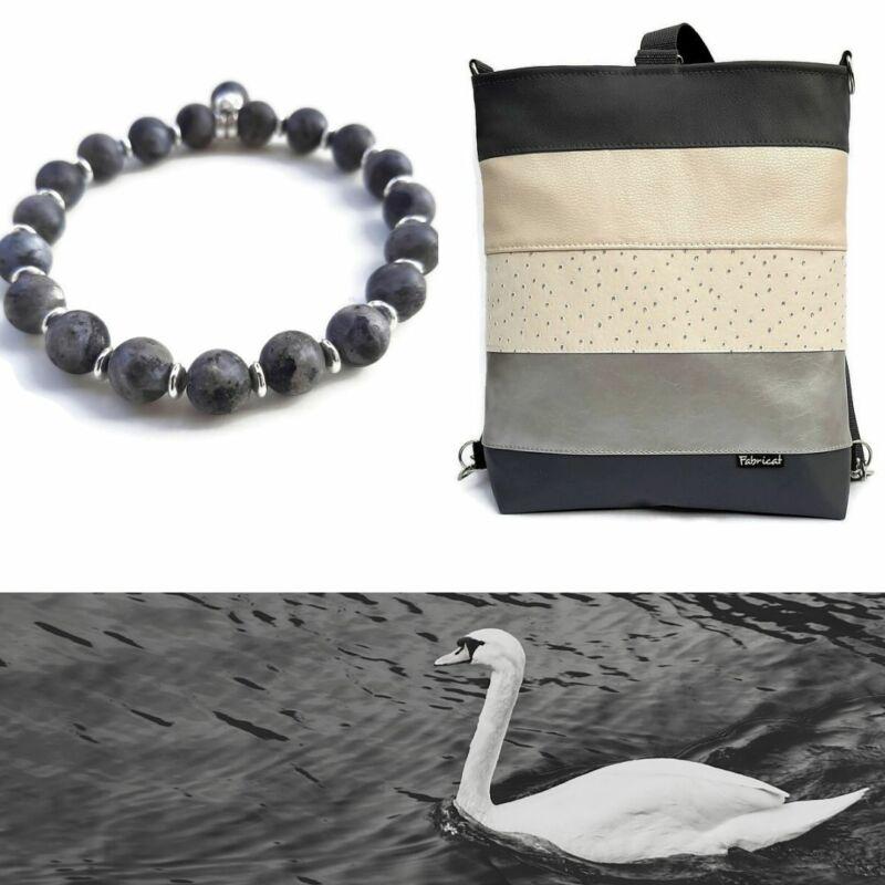 Duó szett: Hűvös elegancia táska, karkötő