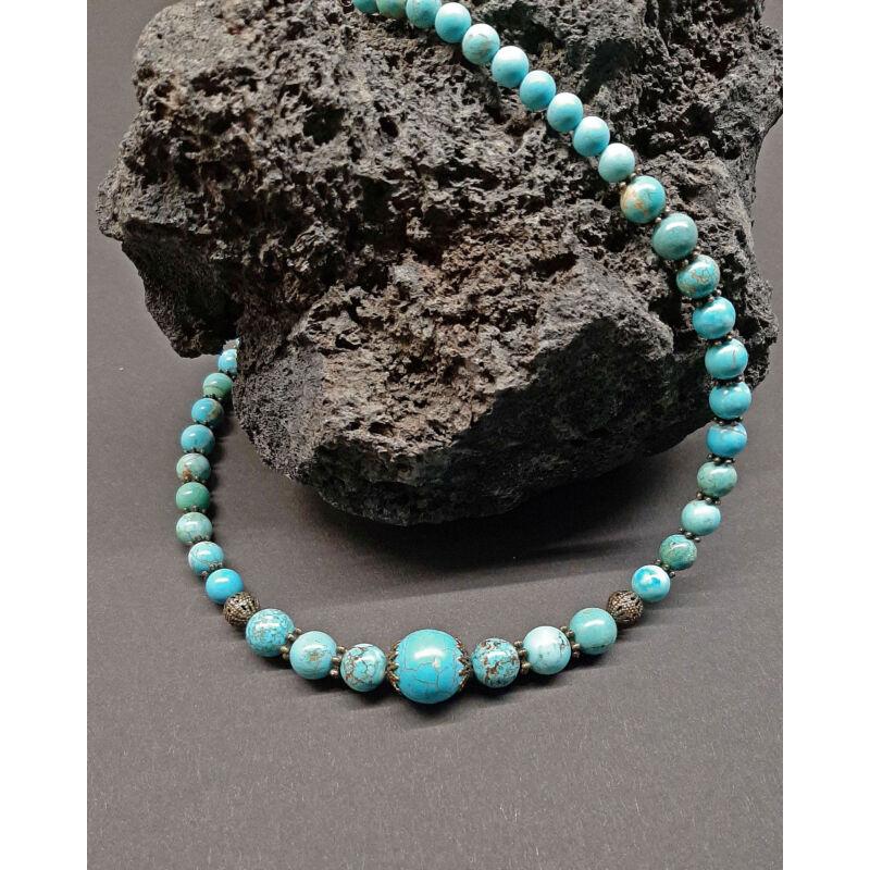 Rövid ásvány nyaklánc: Türkenit