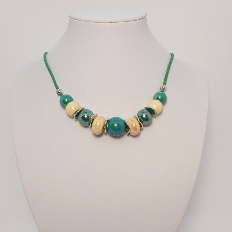 Rövid nyakláncok, amik kiemelik a szépséged: türkizzöld