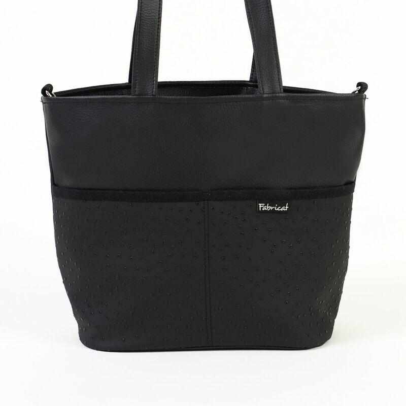 Nagy szett: A klasszikus kisfekete táska, ékszer