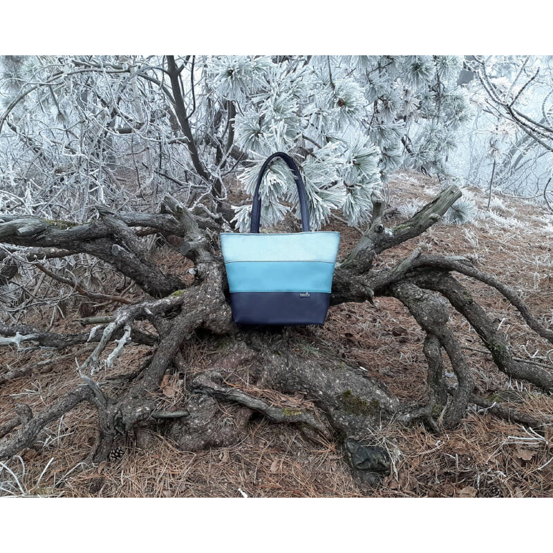 Shopper táska az elszánt amazonoknak: kék